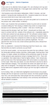 Lee Fogarty claims he quit and RCL are lying
