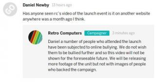 RCL claim launch party attendees bullied so video taken down