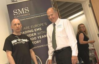 Paul Andrews and SMS director and PR consultant